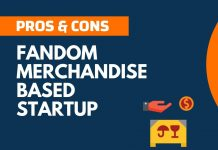 Pros and Cons of Fandom Merchandise based Startup