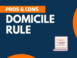 Pros and Cons of Domicile Rule