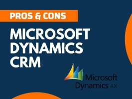 Pros and Cons of Microsoft Dynamics CRM