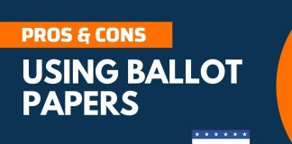 Pros and Cons of Using Ballot Papers
