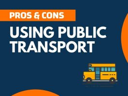 Pros and Cons of Using Public Transport