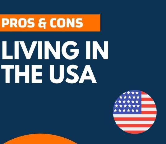 Pros cons of living in the USA