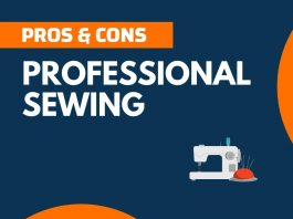 Pros and Cons of Professional Sewing
