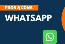 Pros and Cons of WhatsApp