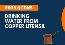 Pros and Cons of Drinking Water from Copper Utensil