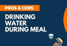 Pros and Cons of Drinking Water During Meal