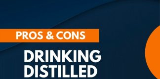 pros cons drinking distilled water
