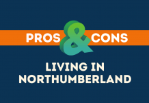 Pros and Cons of living in Northumberland