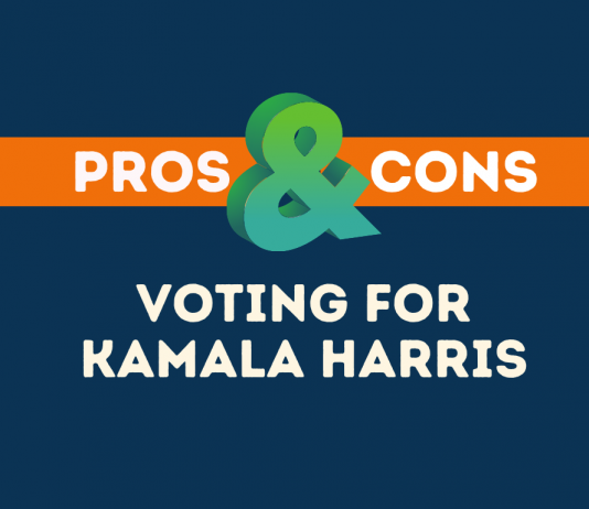 Pros cons of voting for Kamala Harris