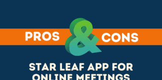 Pros Cons of Star Leaf App for Online Meetings