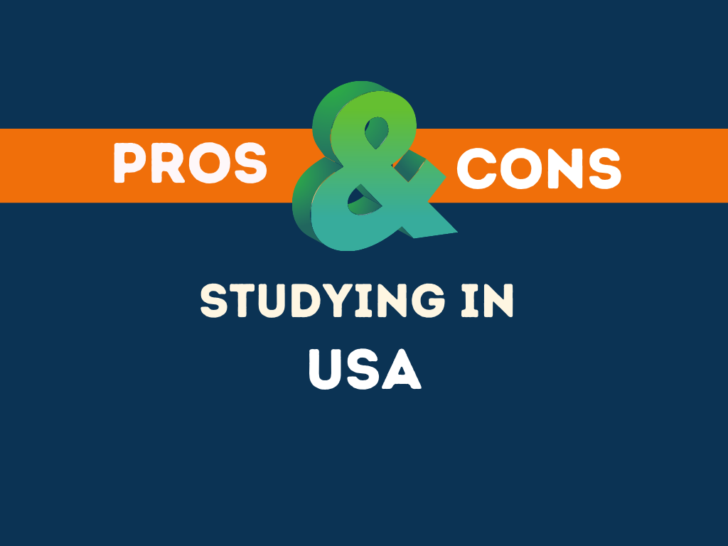 Pros Cons Studying in USA